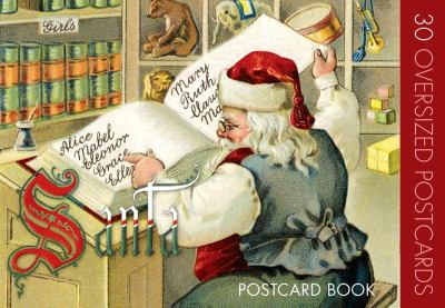 Santa Claus Postcard Book 9781595836656