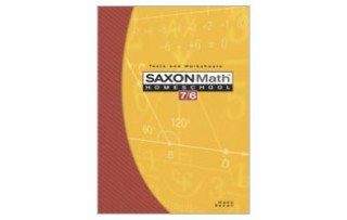 Saxon Math Homeschool 7/6: Tests and Worksheets 9781591413233