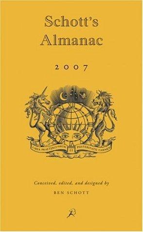 Schott's Almanac 2007 9781596911710