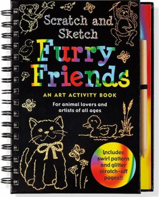 Furry Friends: An Art Activity Book for Animal Lovers and Artists of All Ages [With Wooden Stylus for Drawing] 9781593597788