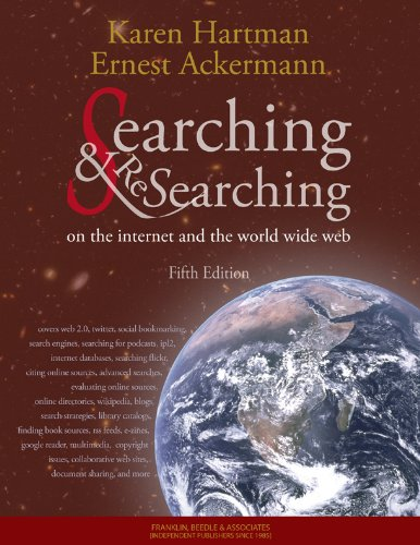 Searching and Researching on the Internet and the World Wide Web Fifth Edition 9781590282427