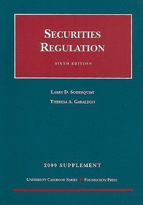 Securities Regulation: Supplement
