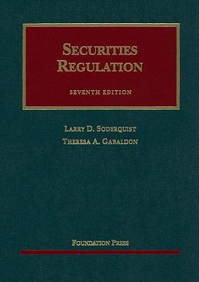 Securities Regulation: Cases and Materials 9781599417448