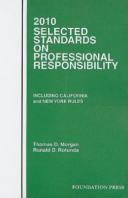 Selected Standards on Professional Responsibility 9781599416885