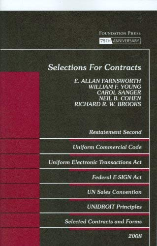 Selections for Contracts 9781599415291