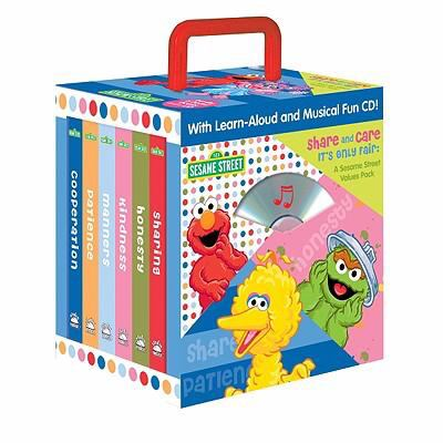 Sesame Street Share and Care, It's Only Fair [With CD (Audio)] 9781590697399