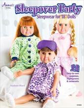 "Sleepover Party: Sleepwear for 18"" Dolls 22090182"