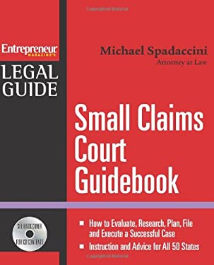 Small Claims Court Guidebook [With CDROM] 9781599181547