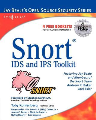 Snort IDS and IPS Toolkit [With CDROM] 9781597490993