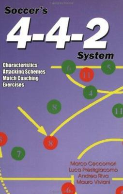 Soccer's 4-4-2 System: Characteristics, Attacking Schemes, Match Coaching, Exercises 9781591640653