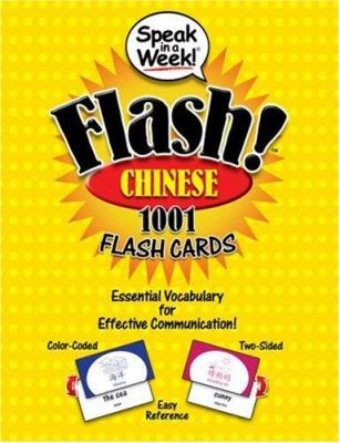 Speak in a Week! Flash! Chinese: 1001 Flash Cards 9781591259442