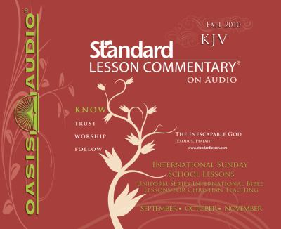 Standard Lesson Commentary (Fall 2010) 9781598597486
