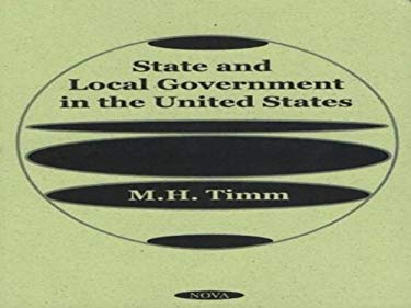 State and Local Government in the United States 9781590330456