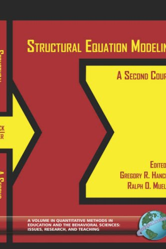 Structural Equation Modeling: A Second Course (Hc) 9781593110154