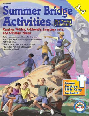 Summer Bridge Activities for Young Christians 3-4 [With Punch-Out Math Flash Cards] 9781594417115