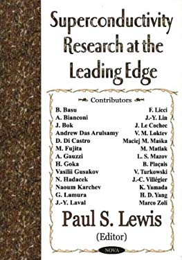 Superconductivity Research at the Leading Edge 9781590338612
