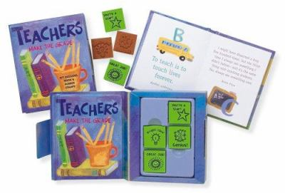 Teachers Make the Grade [With 4 Rubber Stamps]