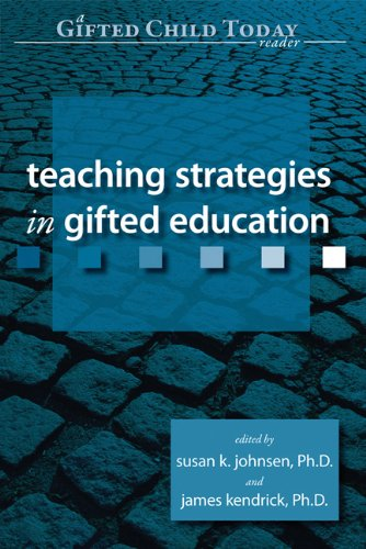 Teaching Strategies in Gifted Education 9781593631703