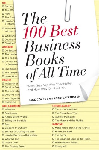 The 100 Best Business Books of All Time: What They Say, Why They Matter, and How They Can Help You 9781591842408
