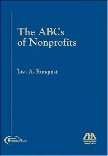 The ABCs of Nonprofits 9781590312919