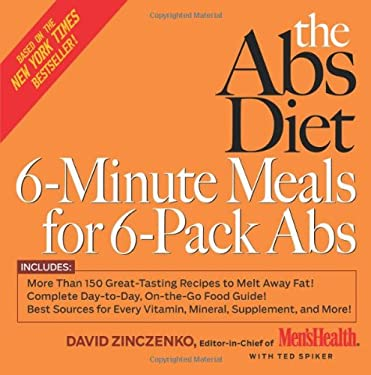 The ABS Diet 6-Minute Meals for 6-Pack ABS 9781594865466