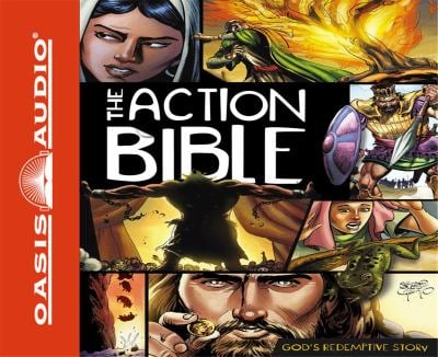 The Action Bible: God's Redemptive Story 9781598597929
