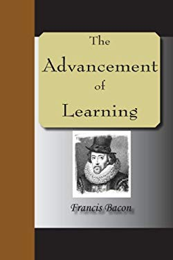 The Advancement of Learning 9781595479747