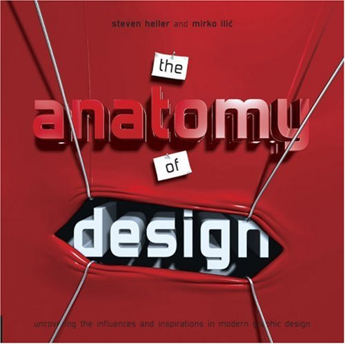 The Anatomy of Design: Uncovering the Influences and Inspirations in Modern Graphic Design 9781592532124