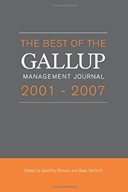 The Best of the Gallup Management Journal 2001-2007 9781595620194