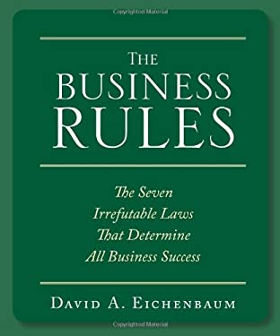 The Business Rules: The Seven Irrefutable Laws That Determine All Business Success 9781599180618