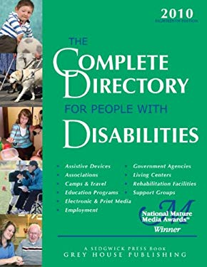 The Complete Directory for People with Disabilities 2010 9781592374311