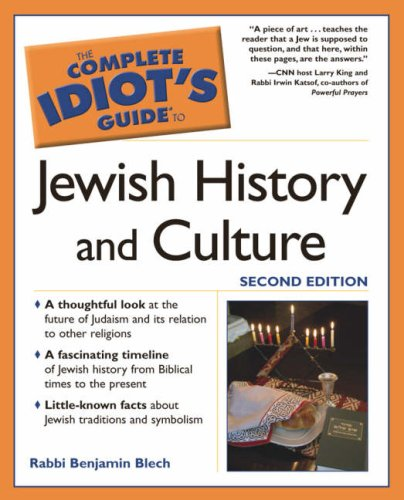 The Complete Idiot's Guide to Jewish History 9781592572403