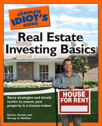 The Complete Idiot's Guide to Real Estate Investing Basics 9781592575169