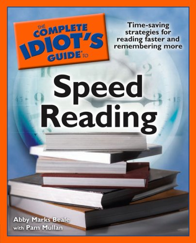 The Complete Idiot's Guide to Speed Reading 9781592577781