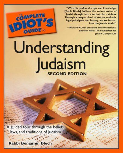 The Complete Idiot's Guide to Understanding Judaism. 2nd Edition 9781592571314