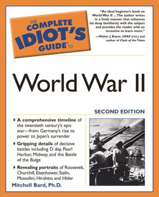 The Complete Idiot's Guide to World War II 9781592572045