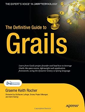 The Definitive Guide to Grails 9781590597583