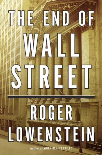 The End of Wall Street 9781594202391