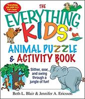 The Everything Kids' Animal Puzzles & Activity Book: Slither, Soar, and Swing Through a Jungle of Fun! 7284453