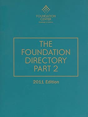 The Foundation Directory, Part 2