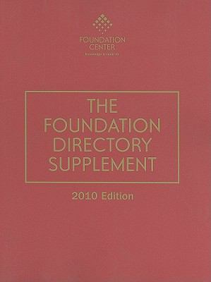 The Foundation Directory Supplement 9781595423313