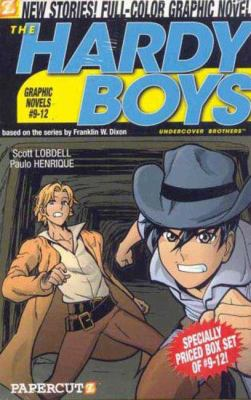 The Hardy Boys #9-12