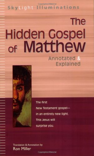 The Hidden Gospel of Matthew 9781594730382