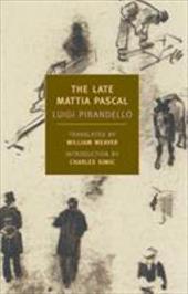 The Late Mattia Pascal 7232996