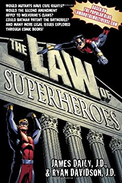 The Law of Superheroes 9781592407262