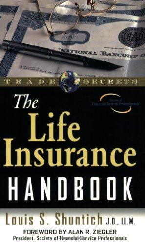 The Life Insurance Handbook 9781592800575