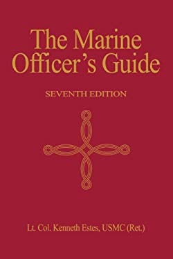 The Marine Officer's Guide 9781591142393
