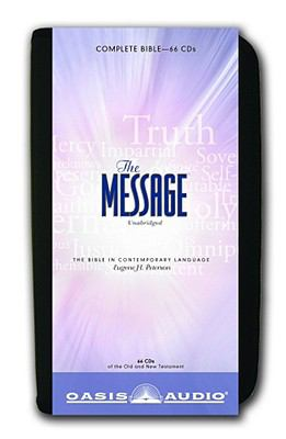 Message Bible-MS 9781598594539