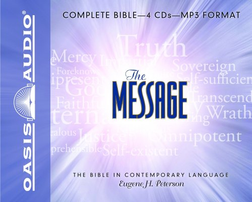 Message Bible-MS 9781598594560