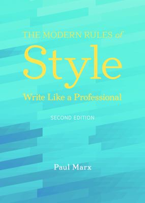 The Modern Rules of Style 9781590318058